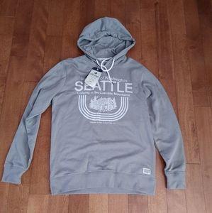 NWT Jack and Jones cotton sweatshirt hoodie size M